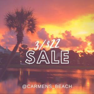 🌺3/$22 🌺 SALE!!!! Look for the 🌺, add to bundle